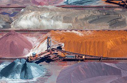 ore and conveyor belt